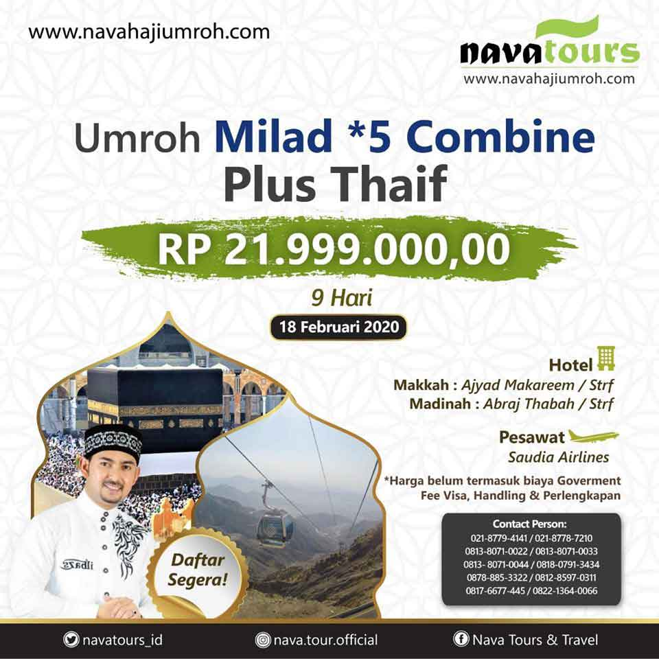umrah milad combine nava travel