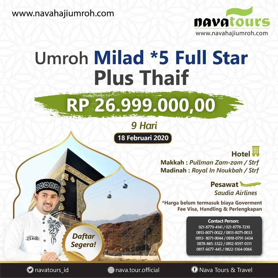 umrah milad full nava tour